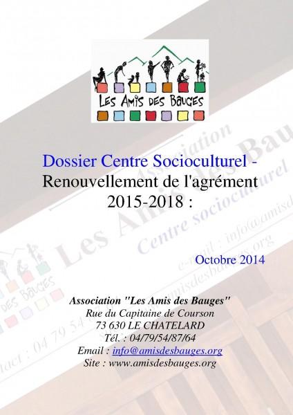 Renouvellement Agrement 2015-2018