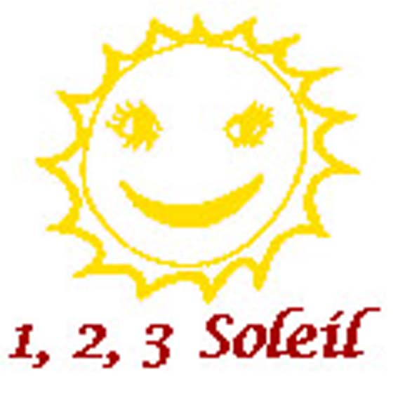 logo 123 soleil couleur