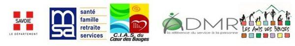 logos Semaine Bleue 2016