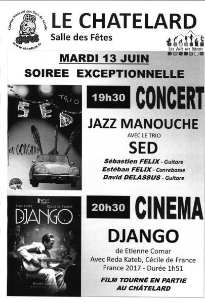 Affiche Cine Django 130617