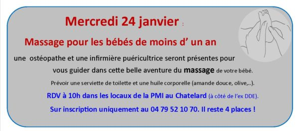 Massage à la Une