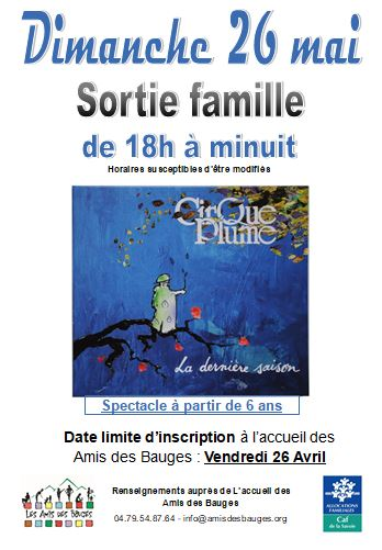 Sortie famille : Cirque plume